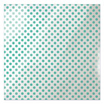 We R Memory Keepers - Clearly Bold Collection - 12 x 12 Acetate Paper - Neon Teal Dot
