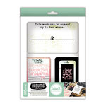 We R Memory Keepers - Albums Made Easy - Journaling Cards - Love Notes
