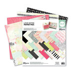 We R Memory Keepers - Love Notes Collection - 12 x 12 Paper Pad