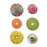We R Memory Keepers - Designer Eyelets and Snaps - Silver Lining, CLEARANCE