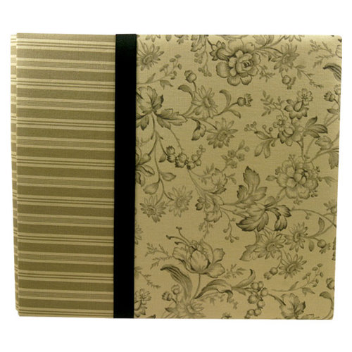 We R Memory Keepers - Deluxe Postbound Album - 12 x 12 - Heritage Olive, CLEARANCE
