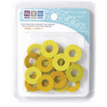 We R Memory Keepers - Extra Large Assorted Gromlets - Yellows, CLEARANCE