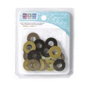 We R Memory Keepers - Extra Large Assorted Gromlets - Browns, CLEARANCE