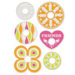 We R Memory Keepers - Designer Gromlets - Friends