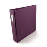 We R Memory Keepers - Linen - 12x12 - Three Ring Albums - Eggplant