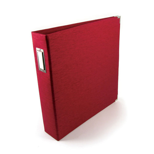 We R Memory Keepers - Linen - 12x12 - Three Ring Albums - Pomegranate