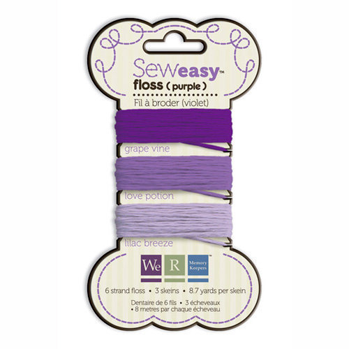 We R Memory Keepers - Sew Easy - Floss - Purple