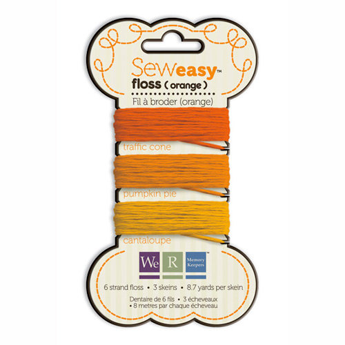 We R Memory Keepers - Sew Easy - Floss - Orange