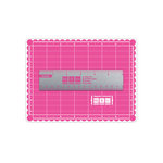 We R Memory Keepers - Crafter's 5 x 7 Inch Magnetic Mat and 6 Inch Magnetic Ruler