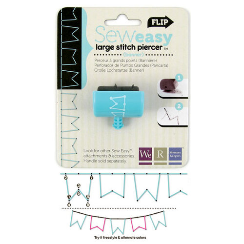 We R Memory Keepers - Sew Easy - Large Stitch Piercer Attachment Head - Banners