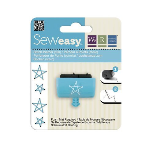 We R Memory Keepers - Sew Easy - Large Stitch Piercer Attachment Head - Star