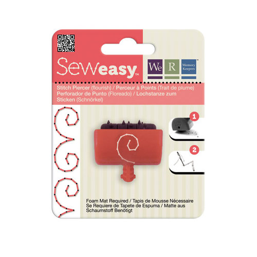 We R Memory Keepers - Sew Easy - Large Stitch Piercer Attachment Head - Flourish