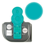 We R Memory Keepers - Lucky 8 Punch - Border and Corner Punch - Retro Scallop