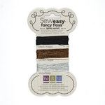 We R Memory Keepers - Sew Easy - Fancy Floss - Glitter - Neutrals