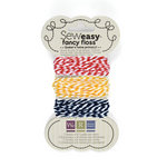 We R Memory Keepers - Sew Easy - Fancy Floss - Bakers Twine - Primary