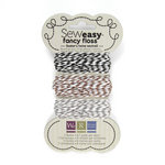 We R Memory Keepers - Sew Easy - Fancy Floss - Bakers Twine - Neutrals