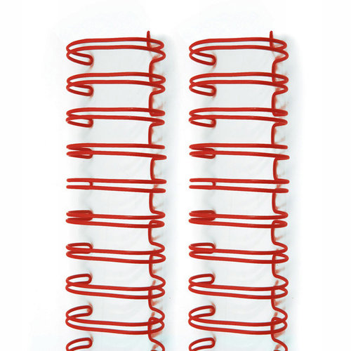 We R Memory Keepers - The Cinch - Binding Wires - 5/8 Inch - Red