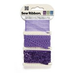 We R Memory Keepers - Sew Ribbon - Ribbon Set - Violet