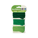We R Memory Keepers - Sew Ribbon - Ribbon Set - Green
