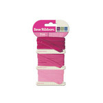We R Memory Keepers - Sew Ribbon - Ribbon Set - Pink
