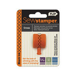 We R Memory Keepers - Sew Stamper - Stamper Attachment Head - Cross Stitch
