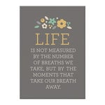 We R Memory Keepers - Art Board - Life is Not Measured, COMING SOON