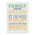 We R Memory Keepers - Art Board - Family Rules