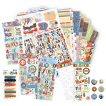 We R Memory Keepers - Paper and Embellishment Kit - Explore, BRAND NEW
