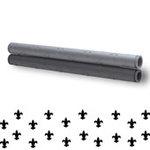 Xyron - Creatopia Patternz - 12 Inch Embossing Roller - Fluer De Lis