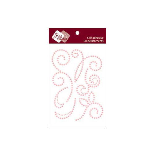 Zva Creative - Self-Adhesive Pearls - Imagine - Pink