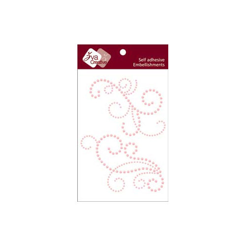 Zva Creative - Self-Adhesive Pearls - Imposing - Pink