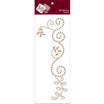 Zva Creative - Self-Adhesive Crystals - Thriving - Champagne, CLEARANCE
