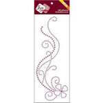Zva Creative - Self Adhesive Pearls - Delightful - Grape