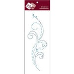 Zva Creative - Self-Adhesive Crystals - Triumph - Soft Blue Pearl and Crystal