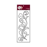 Zva Creative - Self-Adhesive Crystals - Flourish 5 - Jet