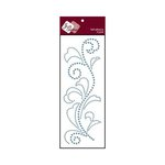 Zva Creative - Self-Adhesive Crystals - Flourish 5 - Ice Blue