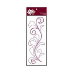 Zva Creative - Self-Adhesive Crystals - Flourish 5 - Lavender and Grape
