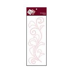 Zva Creative - Self-Adhesive Pearls - Flourish 5 - Pink