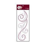 Zva Creative - Self-Adhesive Crystals - Flourish 6 - Lavender and Grape