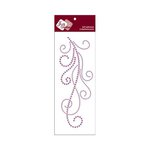 Zva Creative - Self-Adhesive Crystals - Flourish 7 - Lavender
