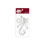 Zva Creative - Self-Adhesive Crystals - Flourish 5 - Smoke