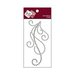 Zva Creative - Self-Adhesive Crystals - Flourish 11 - Smoke