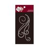 Zva Creative - Self-Adhesive Pearls - Flourish 12 - White