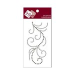 Zva Creative - Self-Adhesive Crystals - Flourish 13 - Smoke