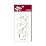 Zva Creative - Self-Adhesive Pearls - Flourish 13 - Taupe