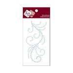 Zva Creative - Self-Adhesive Pearls - Flourish 13 - Soft Blue