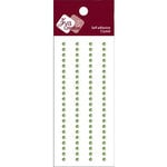 Zva Creative - Self-Adhesive Crystals - Basic Lines - .3 cm - Lime, CLEARANCE