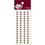 Zva Creative - Self-Adhesive Crystals - Basic Lines - .5 cm - Chocolate, CLEARANCE