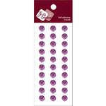 Zva Creative - Self-Adhesive Crystals - Basic Lines - .8 cm - Lavender, CLEARANCE