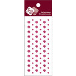 Zva Creative - Self-Adhesive Crystals - Dots - Rosy